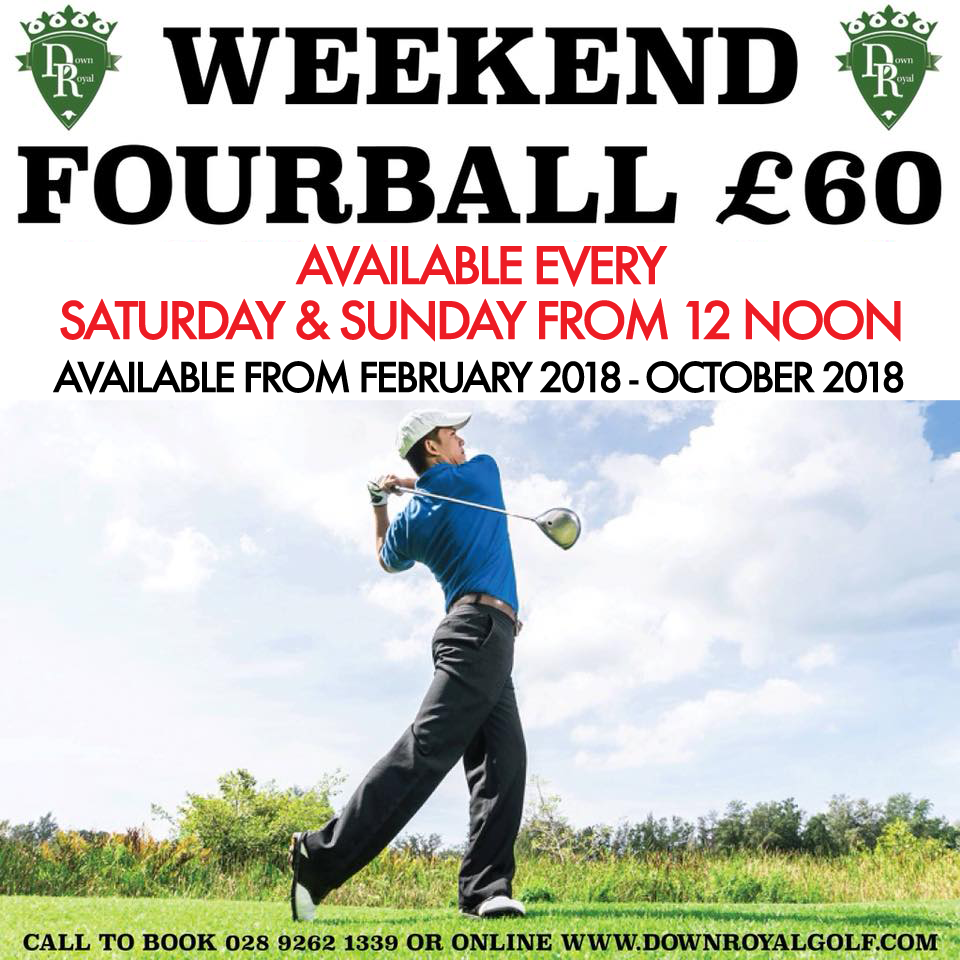 weekend fourball FEB - OCTOBER